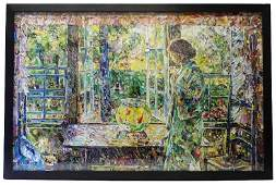 Vik Muniz The Goldfish Window, After Childe Hassam