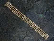 RARE 3156ct Fancy Yellow Diamond Bracelet