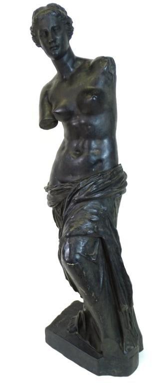 French Bronze Figure of Venus de Milo