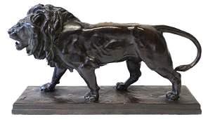 AntoineLouis Barye 17961875 Bronze Lion