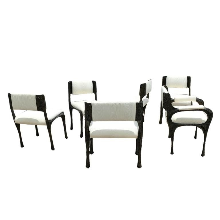 (6) Paul Evans Dining Chairs