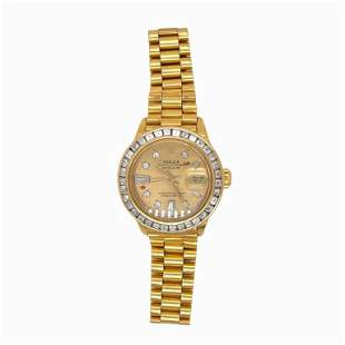 Lady Rolex SOLID 18K Yellow Gold Datejust President