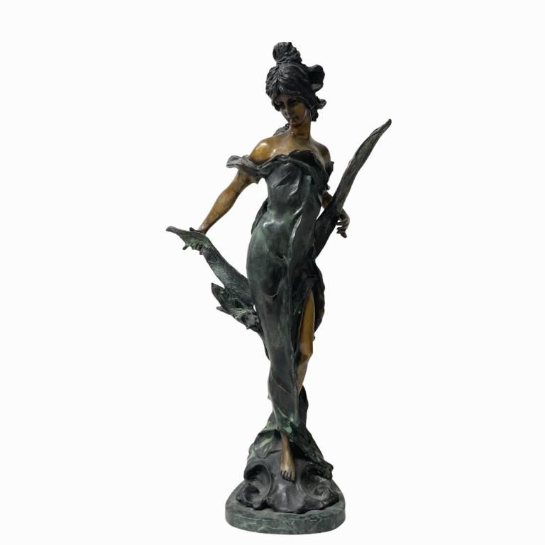 Tiffany & Co Contemporary Bronze Sculpture. Signed and