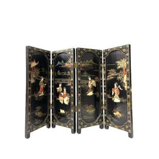 Mini Traditional Chinese Folding Screens