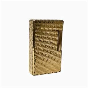S.T. Dupont Roller Gas Gold Plated Pocket Lighter