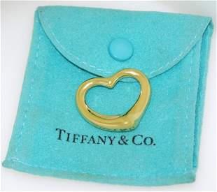 Tiffany & Co Elsa Peretti 18k Yellow Gold Medium