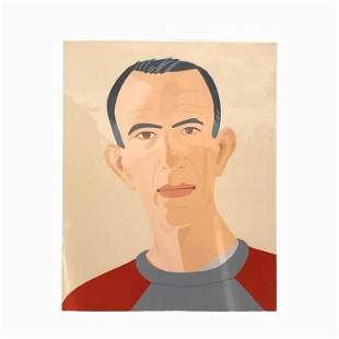"Alex Katz, American (B. 1927) ""Sweatshirt 2"""