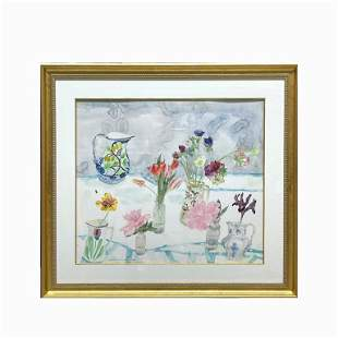 "Dame Elizabeth ""Still Life with Tulips"""
