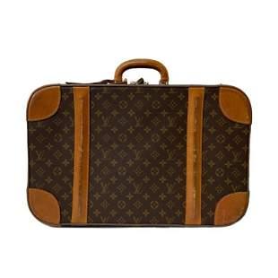 Louis Vuitton Brown Vintage Monogram Suitcase 70