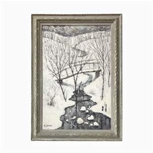 """Ilya Shenker """"Snow in Central Park"""""""
