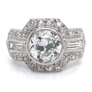 1.86 Ct GIA Certified Diamond Engagement Ring