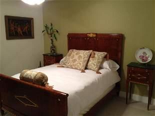 "Mid To Late 19 Century ""La Laurette"" French Bedroom Set"
