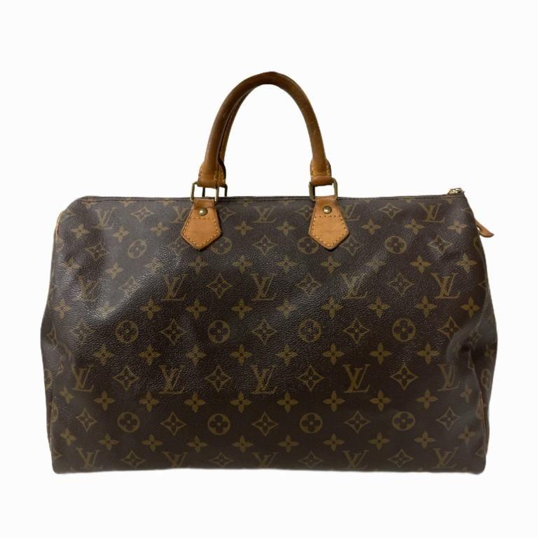 Louis Vuitton Monogram Speedy Bag