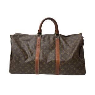 Louis Vuitton Monogram Keepball Bag in Brown