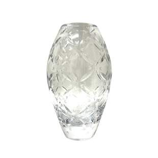 Faberge Cut Crystal Vase