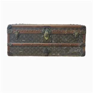 Vintage Steamer Louis Vuitton Courier Trunk.