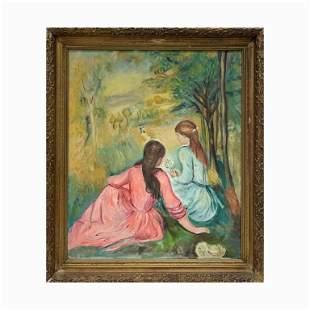 Maurice Wexler, Oil on Canvas