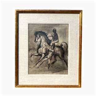 Etching on Paper. signed by S. Hoka
