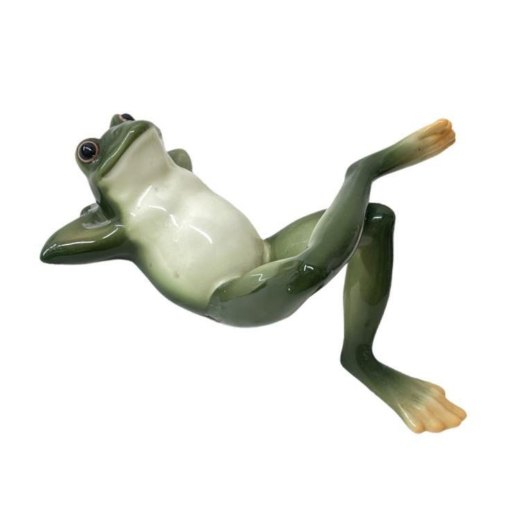 Franz Porcelain Frog Figurine