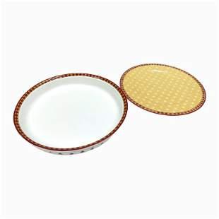 Set of 2 Villeroy & Boch Porcelain Large Plates