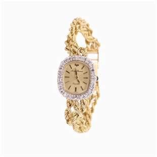 Lucien Piccard 14 Karat Yellow Gold Watch