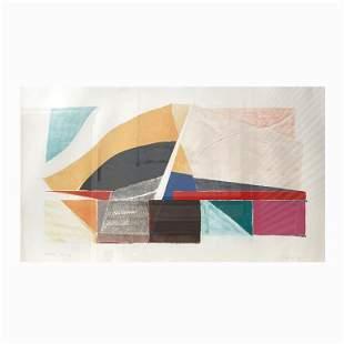 "Susan Crile (B. 1942) ""Abstract II"" 1981"