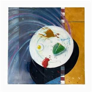 David Anderson (American) Acrylic on Canvas