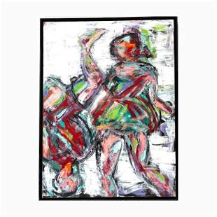 Acrylic On Canvas by D. Banslein