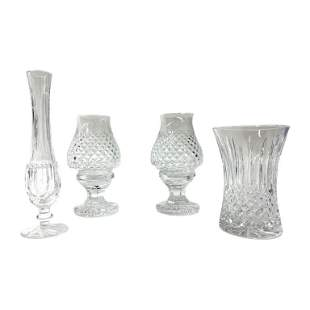 Lot of 4 Waterford Cut Crystal