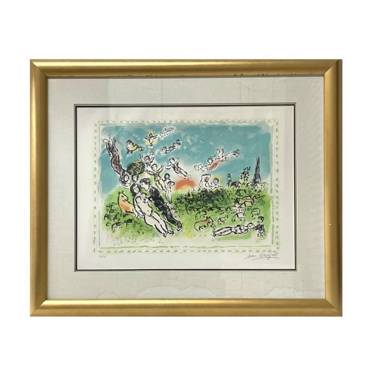 "Marc Chagall ""Paris En Tete"""
