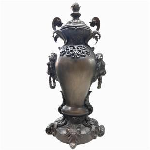 Antique Bronze Urn