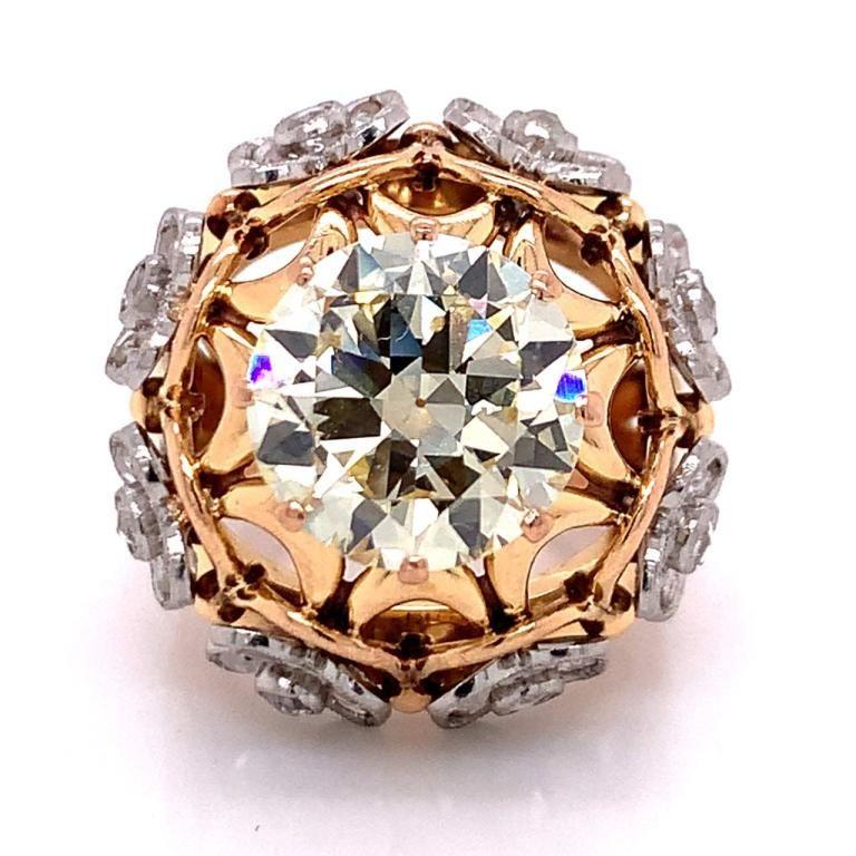4.90 Ct GIA Certified Diamond Ring