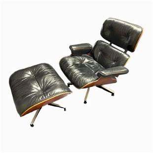 Charles & Ray Eames lounge chair and ottoman