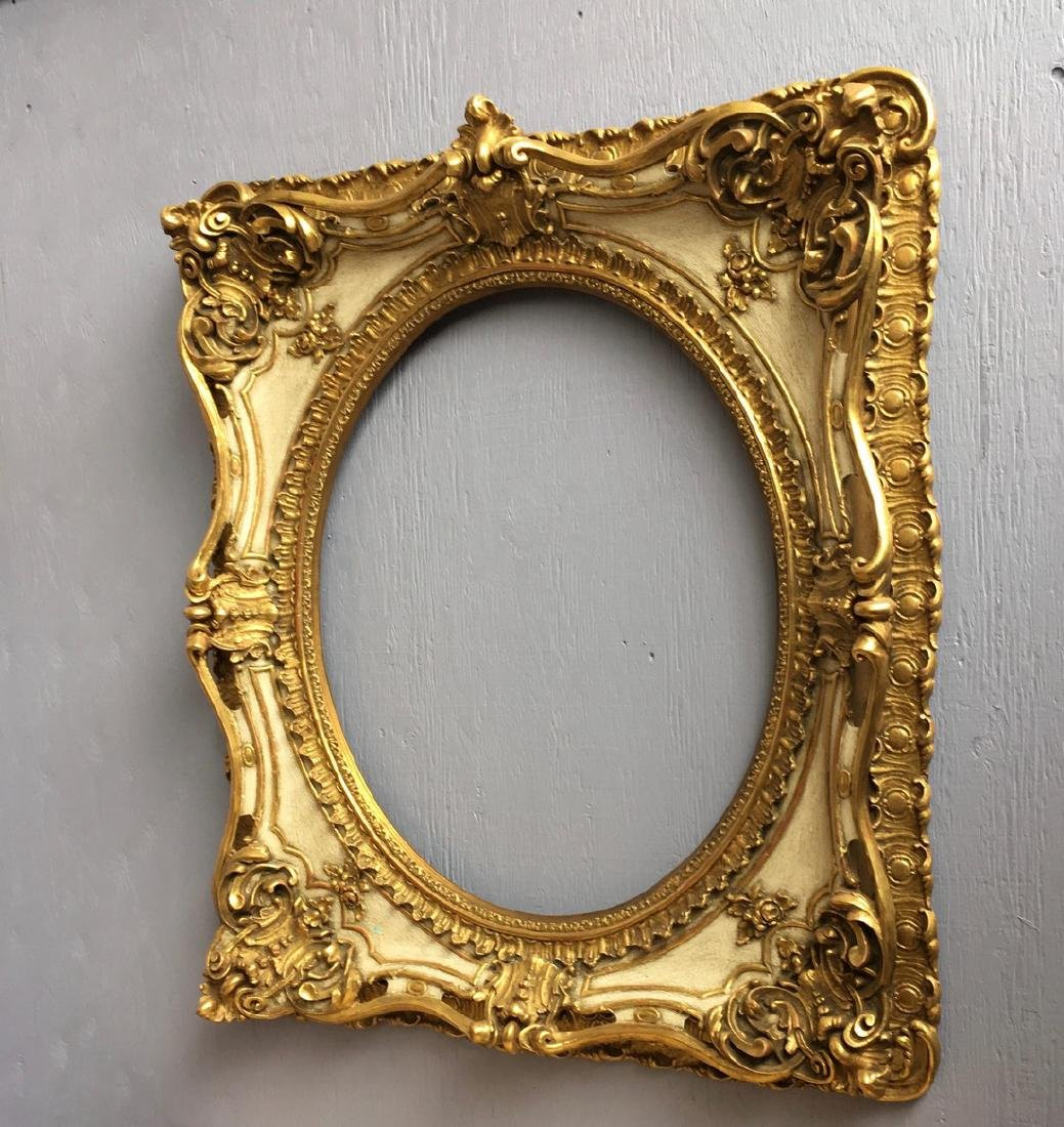 20th Century Rococo frame 42''x37 ½'' Lots must be