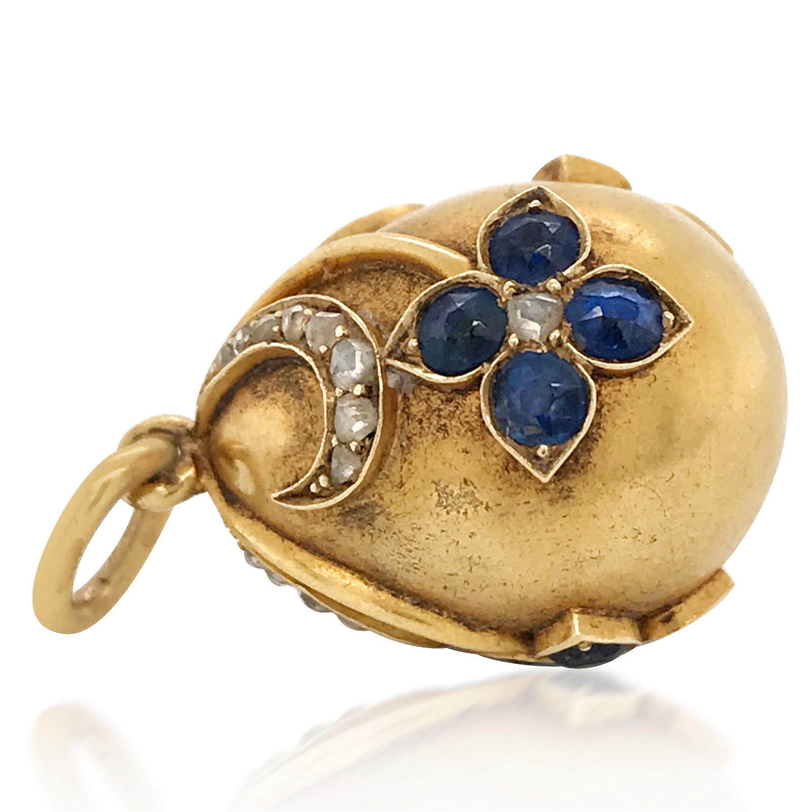 Faberge, Sapphire Gold Egg