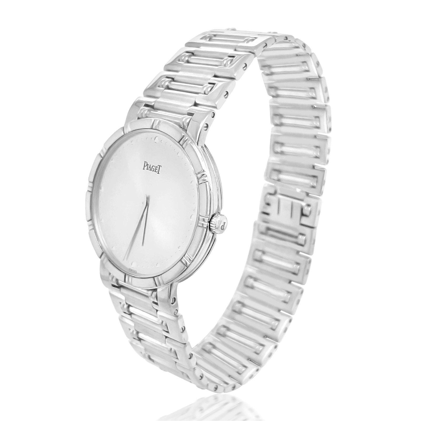 Piaget, 18K White Gold Watch