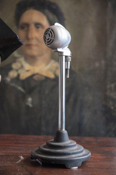 Vintage microphone Ca 1950's