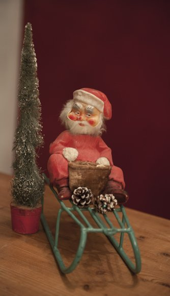 Very old Santa in celluloid