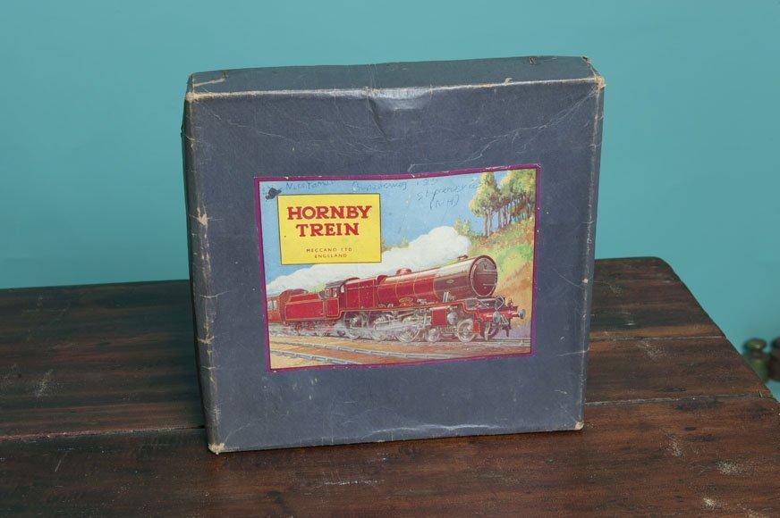 Hornby train Meccano ltd England Trainset in box