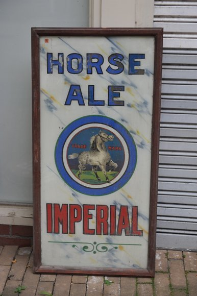 Imperial Horse Ale trade mark Commercial sign