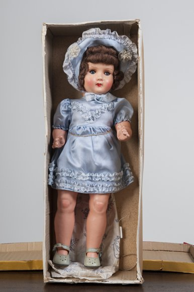 Antique doll with box