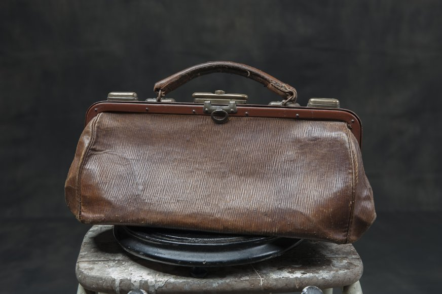 Antique doctors bag