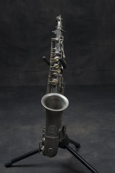 Antique saxophone from 1895