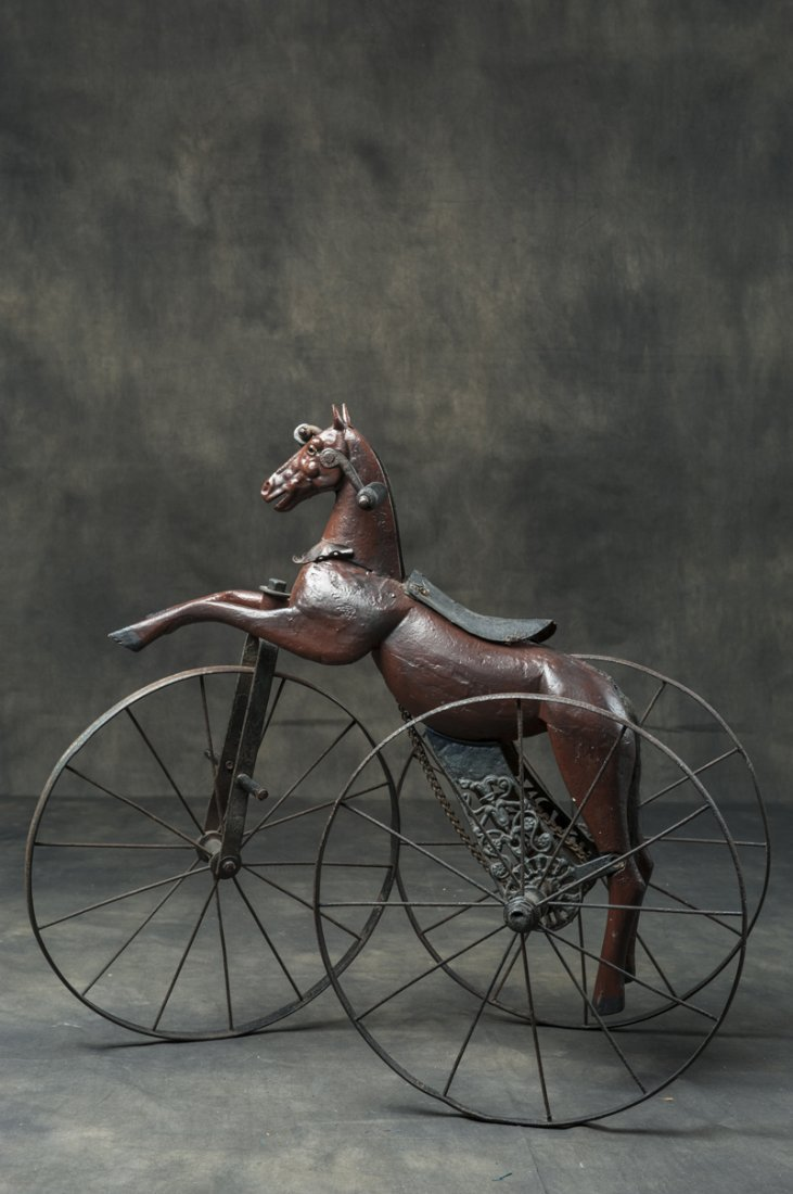 Antique horse cyclopede from ca 1850