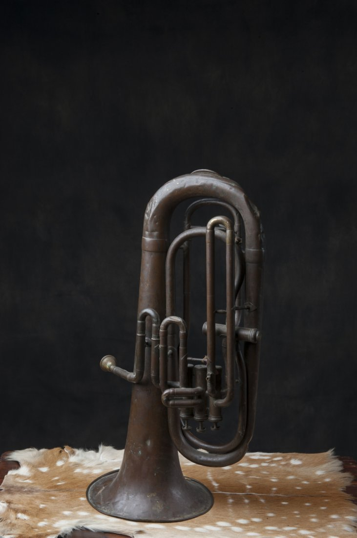 Trombone, antique from the 1900s