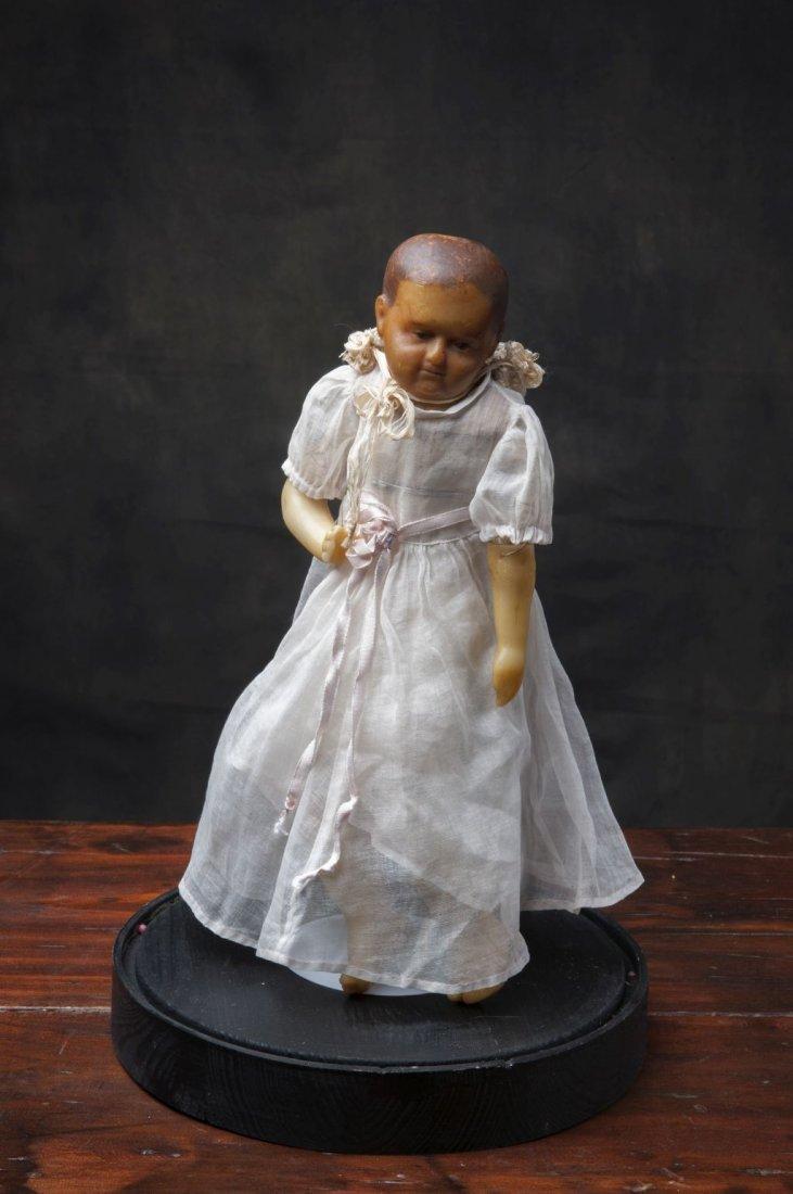 Wax doll scnd half 17th century