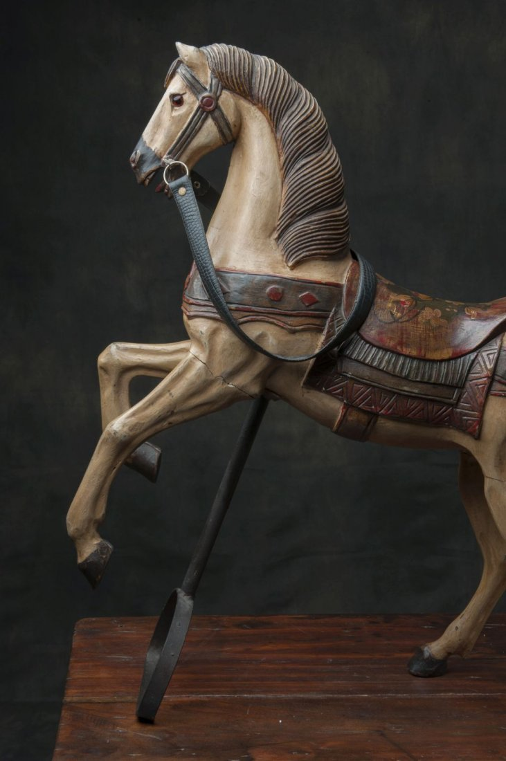 Wooden carousel horse - 5