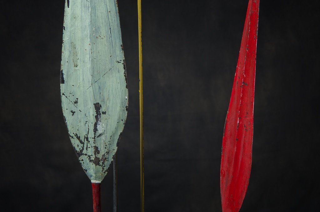 4 pc Antique african spears - 2