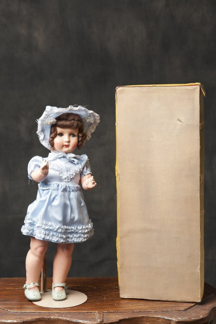 Belgian doll with box