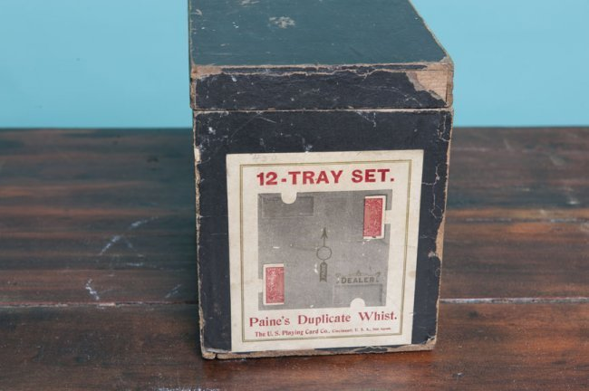 Antique playing cards set